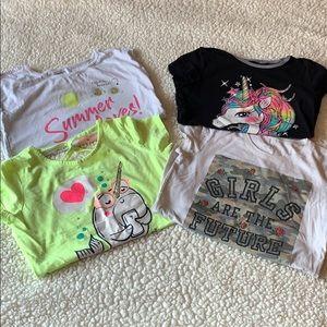 💝BOGO - bundle of 4 girls shirts